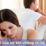 Cách xử lý khi chồng có bồ nhí của vợ hay nhất