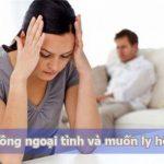 Muốn ly hôn khi phát hiện chồng ngoại tình