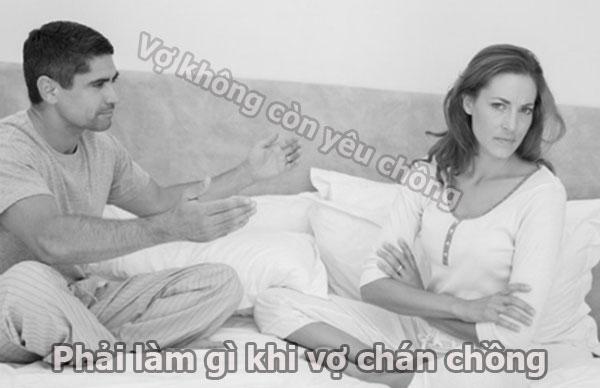 Làm gì khi vợ chán chồng