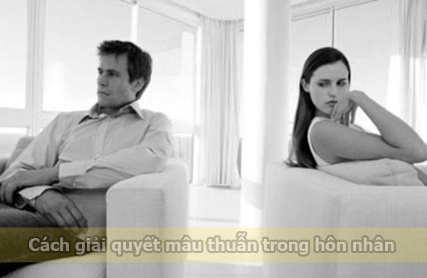 Giải quyết mâu thuẫn hôn nhân
