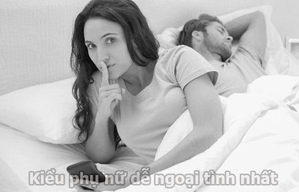 Kiểu phụ phụ nữ dễ ngoại tình