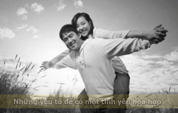 Yếu tố để có một tình yêu hòa hợp