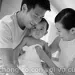 Phải làm sao khi biết chồng có con với vợ cũ