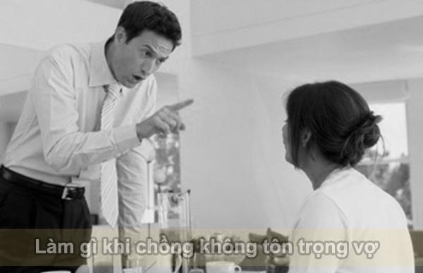 Làm gì khi chồng không tôn trọng vợ post image
