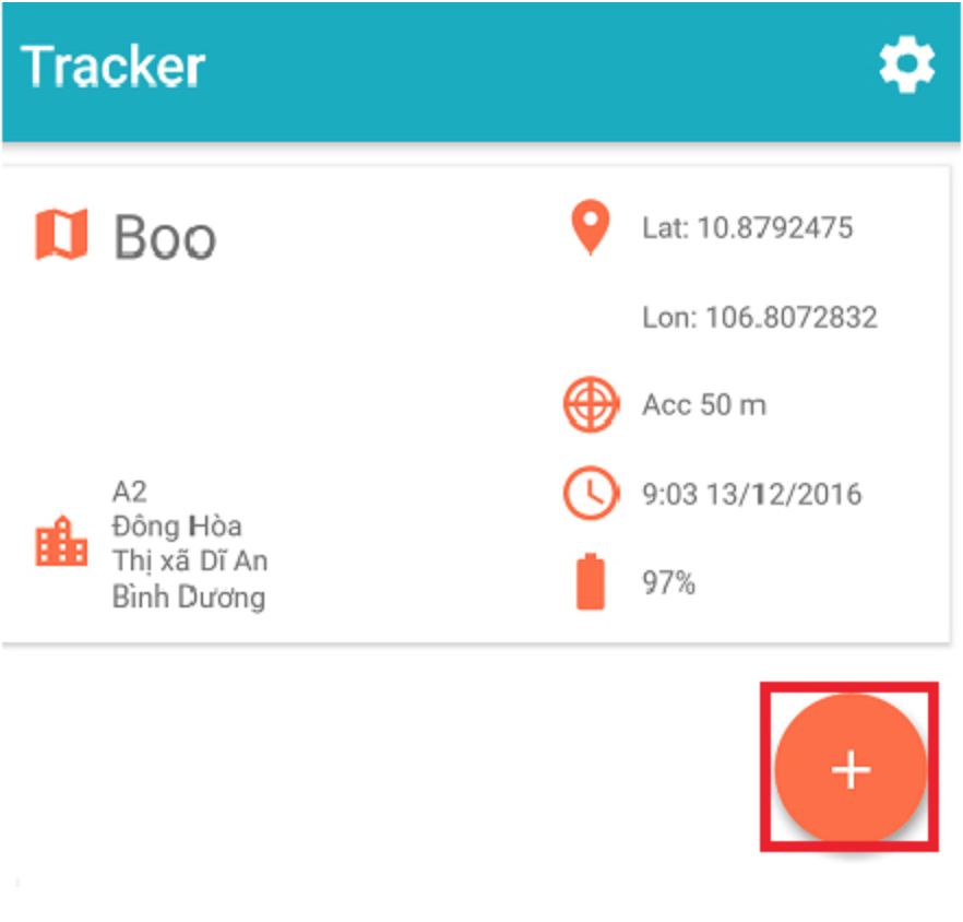 huong dan su dung Tracker Devices Locator